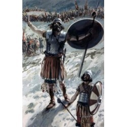 Posterazzi SAL999229 Defiance of Goliath James Tissot 1836-1902 French Jewish Museum New York USA Poster Print - 18 x 24 in.