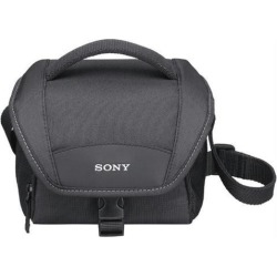 SONY LCS-U11 Black Soft Compact Carrying Case