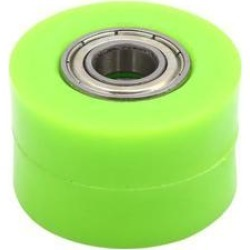 10mm Hole Chain Roller Tensioner Pulley Wheel Sprocket Green for Motorcycle