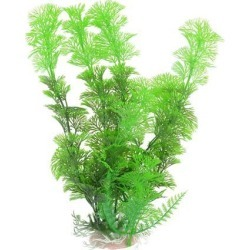 Unique Bargains 11 Height Green Simulated Aquarium Grass Plant Decor w Ceramic Base found on Bargain Bro India from Newegg Canada for $9.86