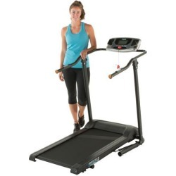 PROGEAR HCXL 4000 Ultimate High Capacity, Extra Wide Walking and Jogging Electric Treadmill with Heart Pulse System