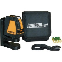 Johnson Level 40-6650 Self-Leveling Cross-Line Laser