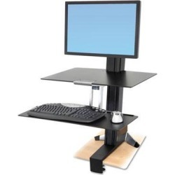 Ergotron WorkFit-S Sit-Stand Workstation - ERG33351200