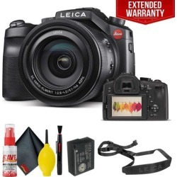 Leica V-LUX (Typ 114) Digital Camera With Extended Warranty