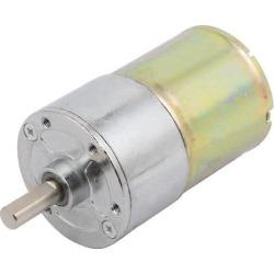 DC 12V 6mm Shaft Dia 250RPM Speed Reducing Gear Box Electric Motor