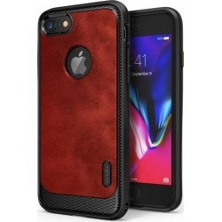 Ringke FLEX S ADVANCED Compatible with Apple iPhone 7 Phone Case Coated Textured Leather Style Flexible TPU Advanced Shock Protection Durable.