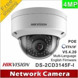 Hikvision Original English Version Surveillance Camera DS-2CD2142FWD-IS 4MP WDR Fixed Dome IP Camera POE Audio/Alarm CCTV Camera(6 mm)