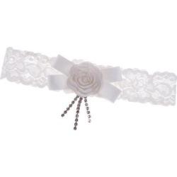 Wedding Bridal Lace Garter Flower Bowknot Rhinestone Garter Party Supplier