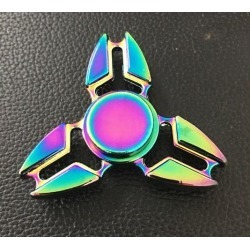 Triangle Fidget Spinner Toys Stress Reducer Anti-Anxiety Finger Toys Focus Gyro Gift Toys