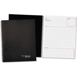 Mead 6341 Meeting-Notes Side-Bound Business Notebook