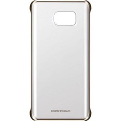 NEW-Samsung Galaxy Note5 Clear Cover Case -Clear Gold
