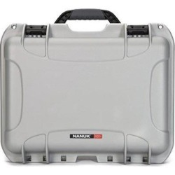 Nanuk 920 Carrying Case for Camera, Temperature Probe Kit - Silver