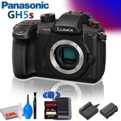 Panasonic Lumix DC-GH5S Mirrorless Micro Four Thirds Digital Camera (International Model) with Memory Card & Cleaning Kit