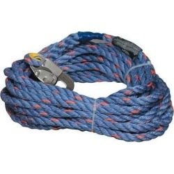 HONEYWELL MILLER 300L-Z7/50FTBL 50 ft.L Vertical Lifeline, Temporary found on Bargain Bro India from Newegg Canada for $78.98