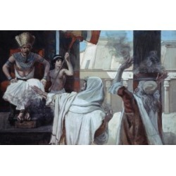 Posterazzi SAL99993 The Plague of Boils & Blains James Tissot 1836-1902 French Jewish Museum New York Poster Print - 18 x 24 in. found on Bargain Bro India from Newegg Canada for $52.03