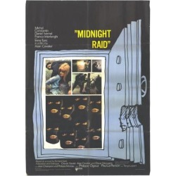 Posterazzi MOVAH2671 Midnight Raid Movie Poster - 27 x 40 in. found on Bargain Bro Philippines from Newegg Canada for $44.19