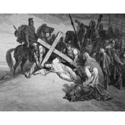Posterazzi SAL99587162 The Crucifixion by Gustave Dore 1832-1883 Poster Print - 18 x 24 in.