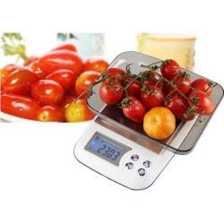 3000g*0.1g Electronic Jewelry LCD Display Digital Scale Balance Weight