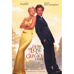 Posterazzi MOVGF3400 How to Lose a Guy in 10 Days Movie Poster - 27 x 40 in.