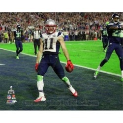 Julian Edelman Touchdown Super Bowl XLIX Sports Photo (10 x 8)