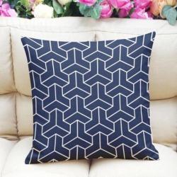 45x45cm Linen Cotton Pillow Case Sofa Cushion Cover Universal Home Decor #2