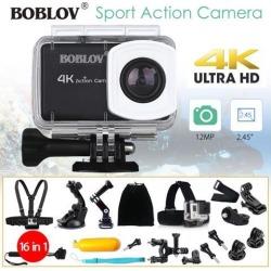 4K HD WIFI Digital Sports Action Camera Waterproof Cam +16in1 Accessories Kit