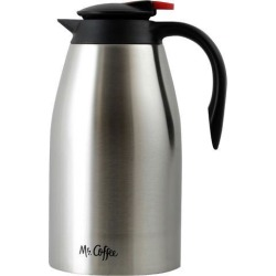 MR. COFFEE 104358.02 Galion 2 Quart Polished Coffee Pot