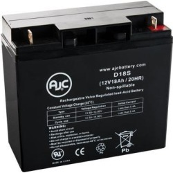 Compaq UPS 242688-002 12V 18Ah UPS Battery - This is an AJC Brand Replacement