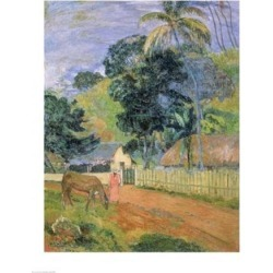 Posterazzi BALBAL106364LARGE Landscape 1899 Poster Print by Paul Gauguin - 24 x 36 in. - Large found on Bargain Bro Philippines from Newegg Canada for $86.13