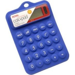 Royal RB102 BLUE RUBBER CALCULATOR