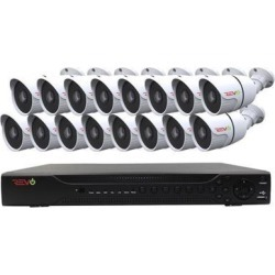 Revo America RAJ162A2B16G-2T Aero HD 1080p 16 Channel Video Security Surveillance System with 16 Indoor & Outdoor Bullet Cameras found on Bargain Bro India from Newegg Business for $820.65