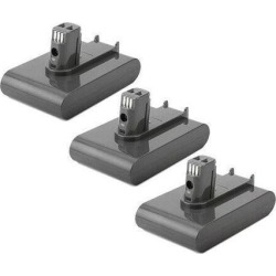 Dyson DC35 Multi Floor / DC35 Exclusive Replacement 2500mAh Vacuum Battery 3Pack