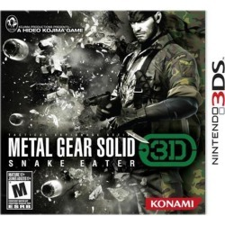 Metal Gear Solid Snake Eater 3DS Nintendo 3DS Game