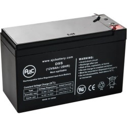 APC Smart-UPS 1500VA RACK TWR SURTA1500RMXL2U 12V 9Ah UPS Battery - This is an AJC Brand Replacement