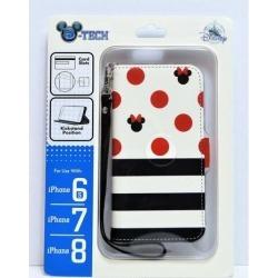Disney Minnie Folio Apple Iphone 6S/7/8 Cellphone Wallet Case Wristlet NEW CUTE