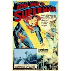 Posterazzi MOVIF9179 Atom Man Vs. Superman Movie Poster - 27 x 40 in. found on Bargain Bro India from Newegg Canada for $42.58