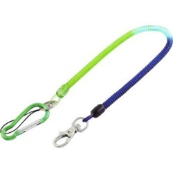 Flexible Stretchy Coil Cord Elastic Rope Spring Telephone Key Chain