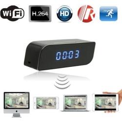 Wireless Mini Wifi IP Clock Spy Camera Motion Detect IR Night Vision 720P HD DVR