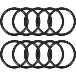 O-Rings Nitrile Rubber 57mm x 67mm x 5mm Seal Rings Sealing Gasket 10pcs Black