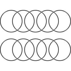 O-Rings Nitrile Rubber 71mm x 75mm x 2mm Seal Rings Sealing Gasket 10pcs