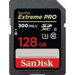 SanDisk Extreme Pro 128GB SDXC UHS-II Card SDSDXPK-128G-CNCIN