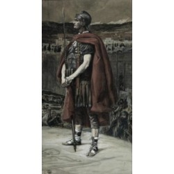 Posterazzi SAL9999310 The Centurion James Tissot 1836-1902 French Poster Print - 18 x 24 in.