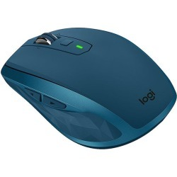 Logitech MX Anywhere 2S Wireless Mobile Mouse with Cross-Computer Control for Mac and Windows (Midnight Teal)