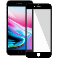 Amzer Kristal Tempered Glass HD Edge2Edge Black Screen Protector for iPhone 8 Plus