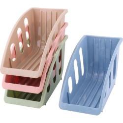 Kitchen Plastic Dish Drainer Multifunction Plate Storage Organizer Rack 4pcs