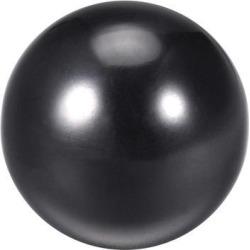 Thermoset Ball Knob M16 Female Threaded Machine Handle 45mm Diameter Smooth Rim Black