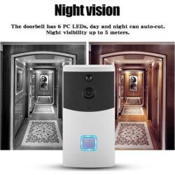 Wireless WIFI Doorbell Video Camera Phone Ring Intercom Night Vision Home Build Security