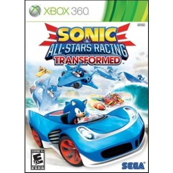Sonic & All-Stars Racing Transformed Xbox 360 Game
