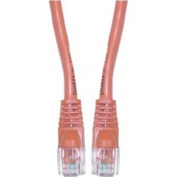 Offex Cat5e Ethernet Patch Cable, Snagless/Molded Boot, 14 foot - Orange
