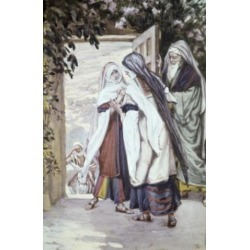 Posterazzi SAL9999918 The Visitation James Tissot 1836-1902 French Poster Print - 18 x 24 in.